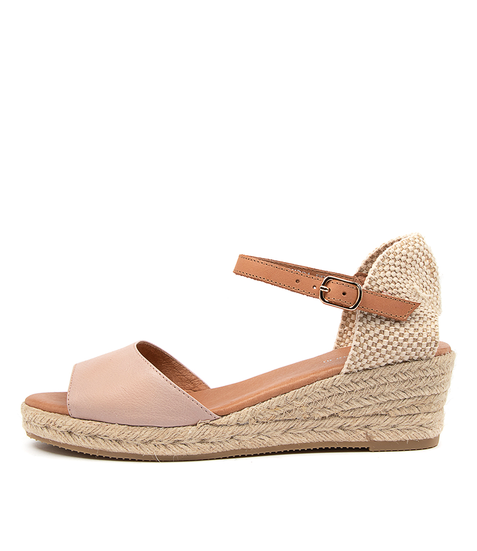 Buy Diana Ferrari Rudra Df Rose Lt Tan Heeled Sandals online with free shipping