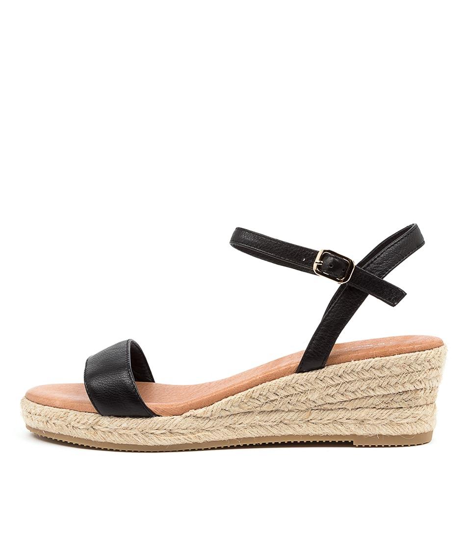 Buy Diana Ferrari Rami Df Black Heeled Sandals online with free shipping