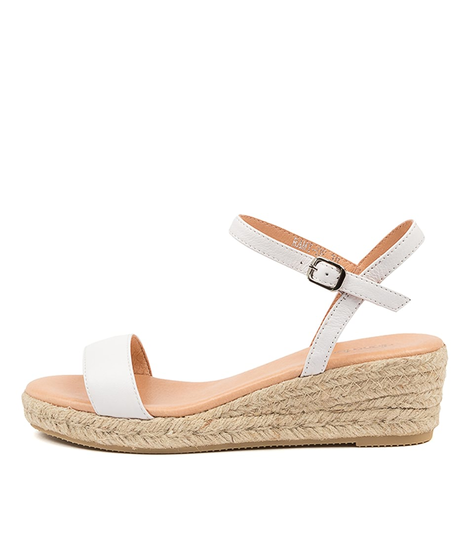 Buy Diana Ferrari Rami Df White Heeled Sandals online with free shipping