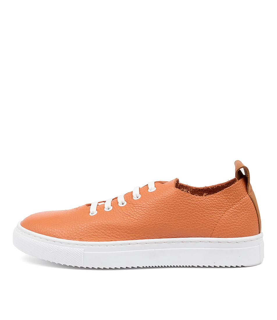 Buy Diana Ferrari Beetle Df Peach Tan Sneakers online with free shipping