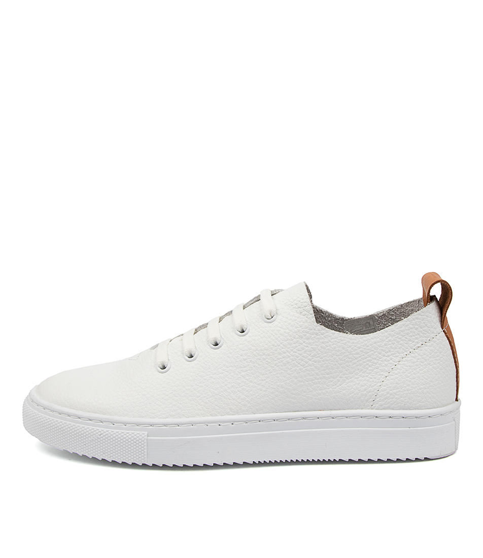 Buy Diana Ferrari Beetle Df White Tan Sneakers online with free shipping
