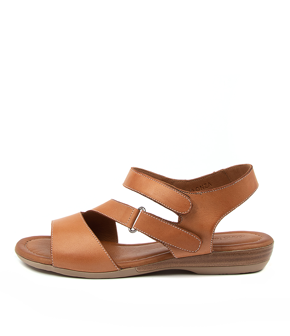 Buy Diana Ferrari Alonza Df Tan Heeled Sandals online with free shipping