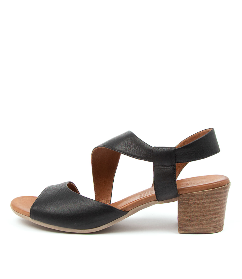 Buy Diana Ferrari Enid Df Black Heeled Sandals online with free shipping