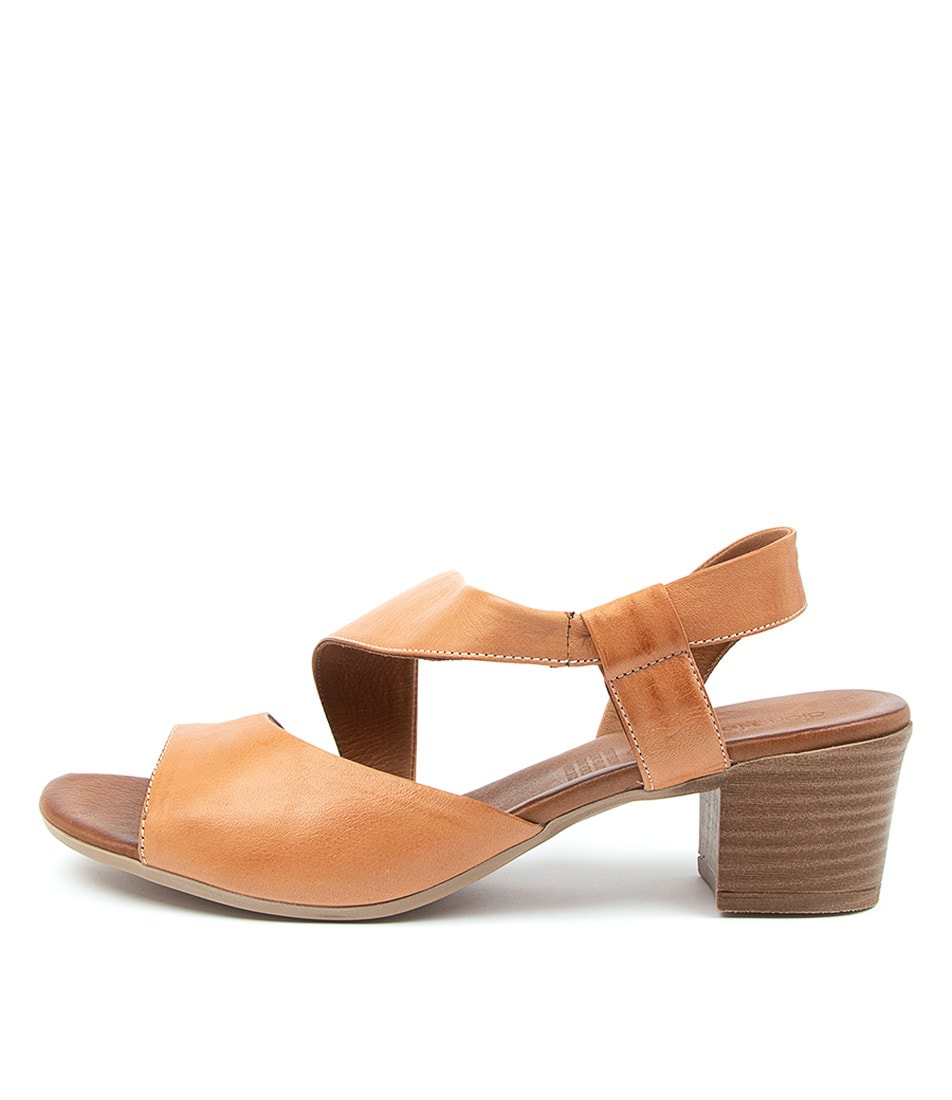 Buy Diana Ferrari Enid Df Tan Heeled Sandals online with free shipping