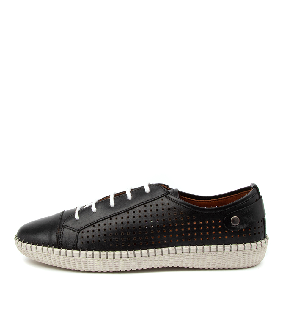 Buy Diana Ferrari Nessa Df Black Sneakers online with free shipping