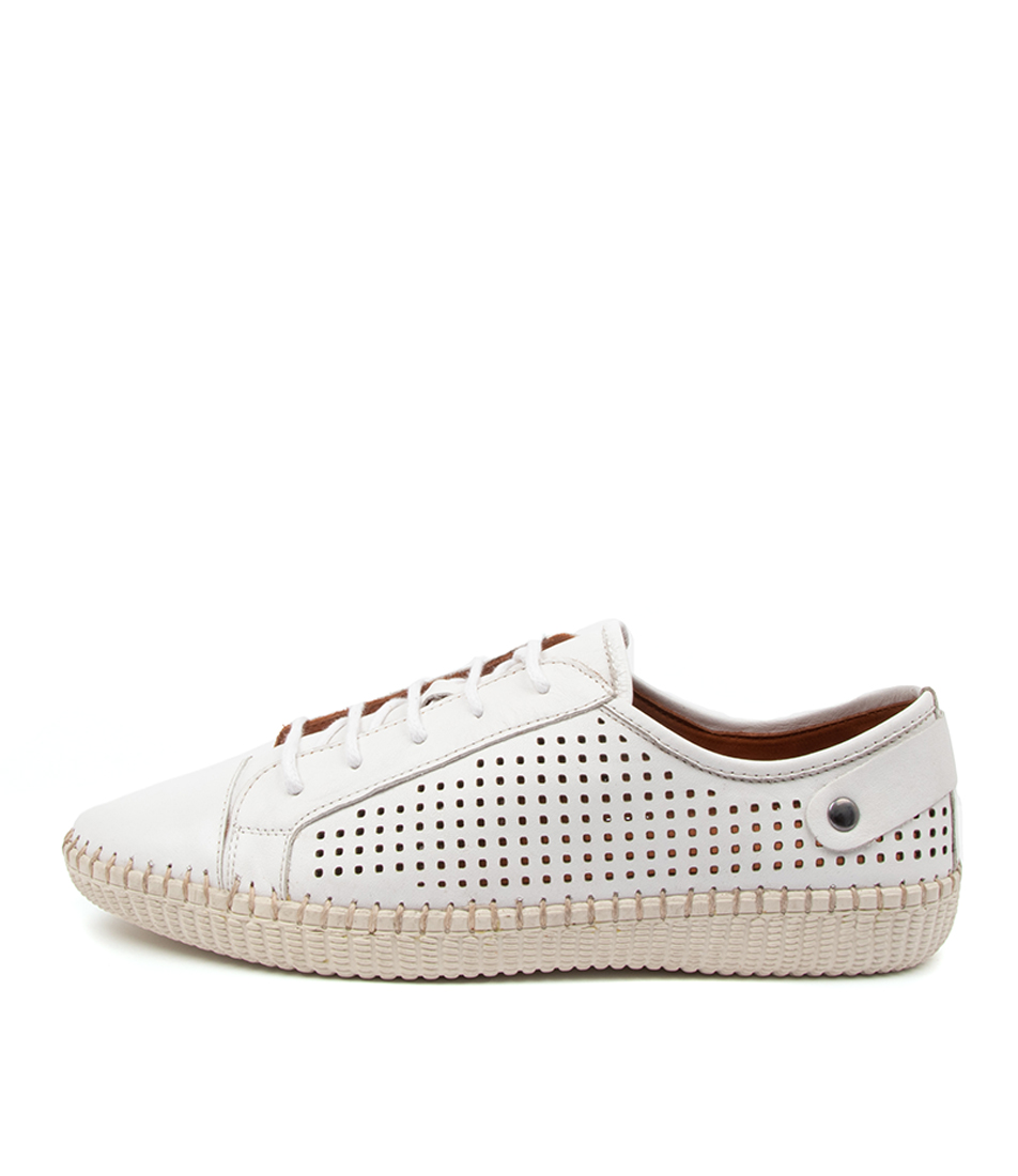 Buy Diana Ferrari Nessa Df White Sneakers online with free shipping