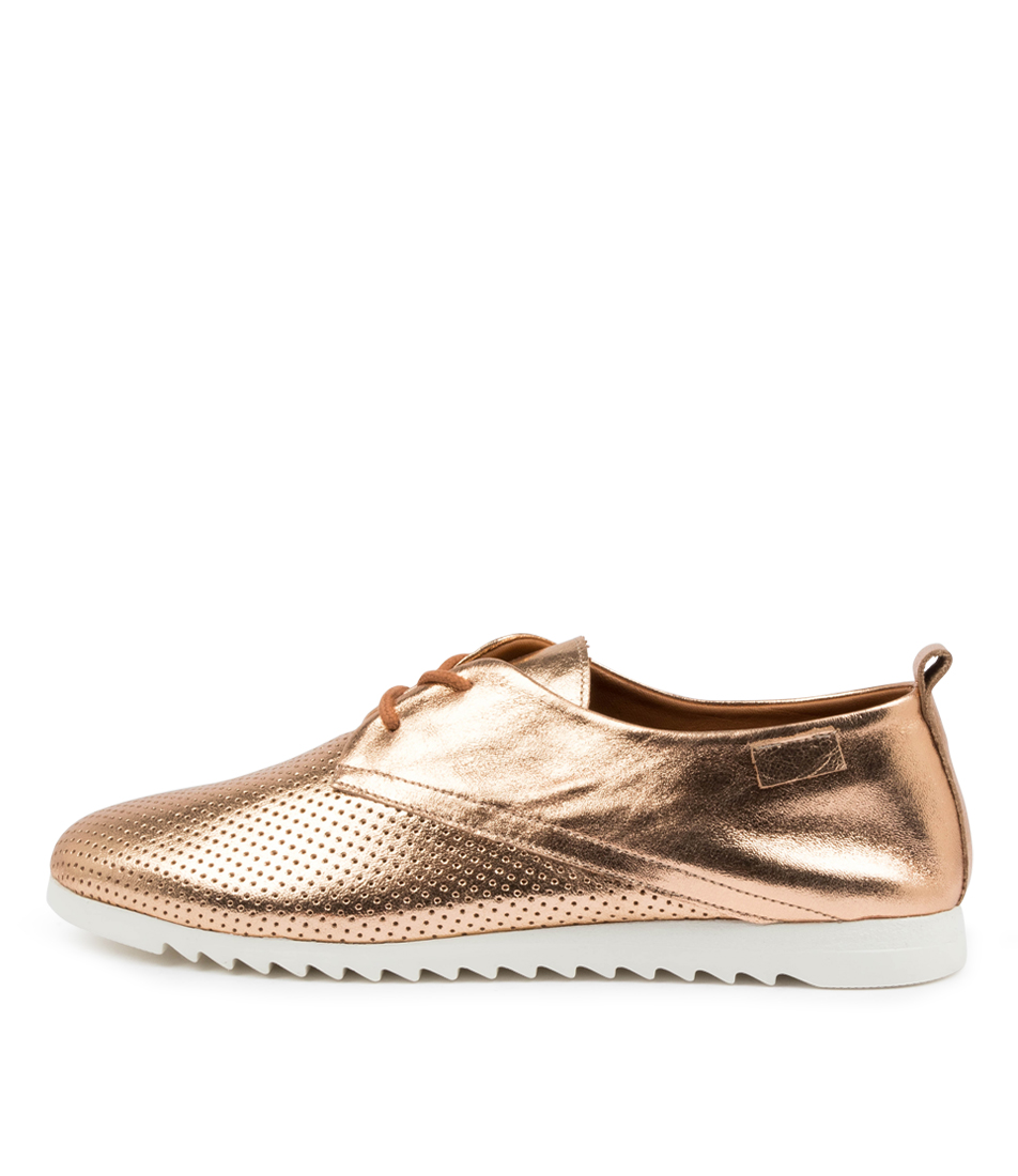 Buy Diana Ferrari Patty Df Rose Gold All Over Sneakers online with free shipping