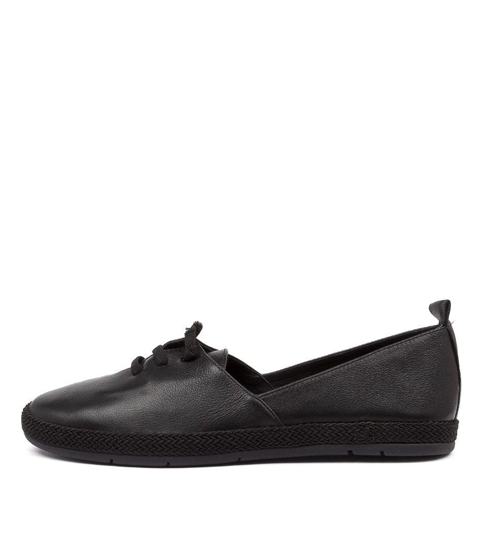 Buy Diana Ferrari Congey Df Black Flats online with free shipping