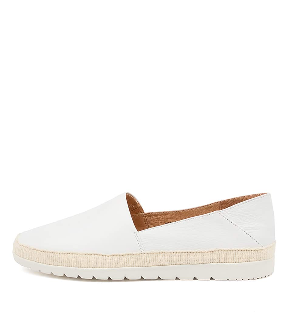Buy Diana Ferrari Afilio Df White White Sole Flats online with free shipping