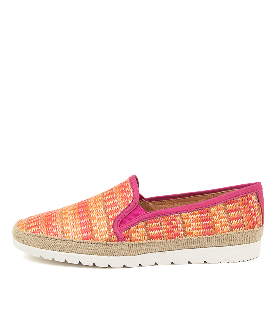 Buy Diana Ferrari Aellan Df Pink Stripe Flats online with free shipping