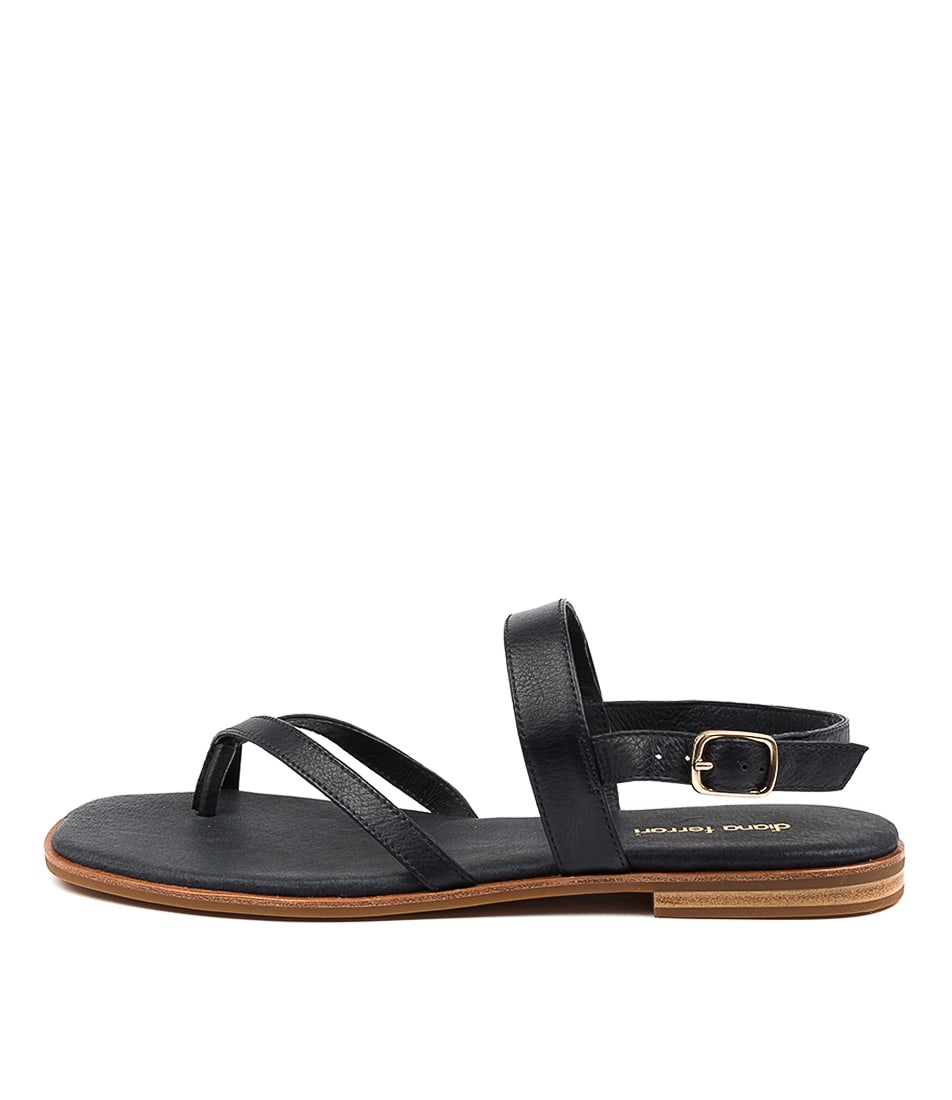 Buy Diana Ferrari Anord Df Navy Flat Sandals online with free shipping