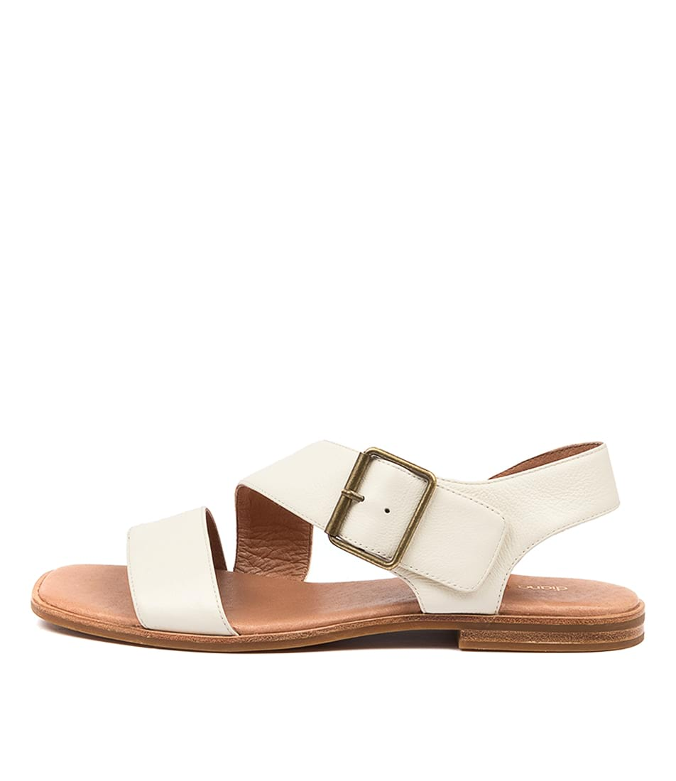 Buy Diana Ferrari Arko Df Cream Flat Sandals online with free shipping