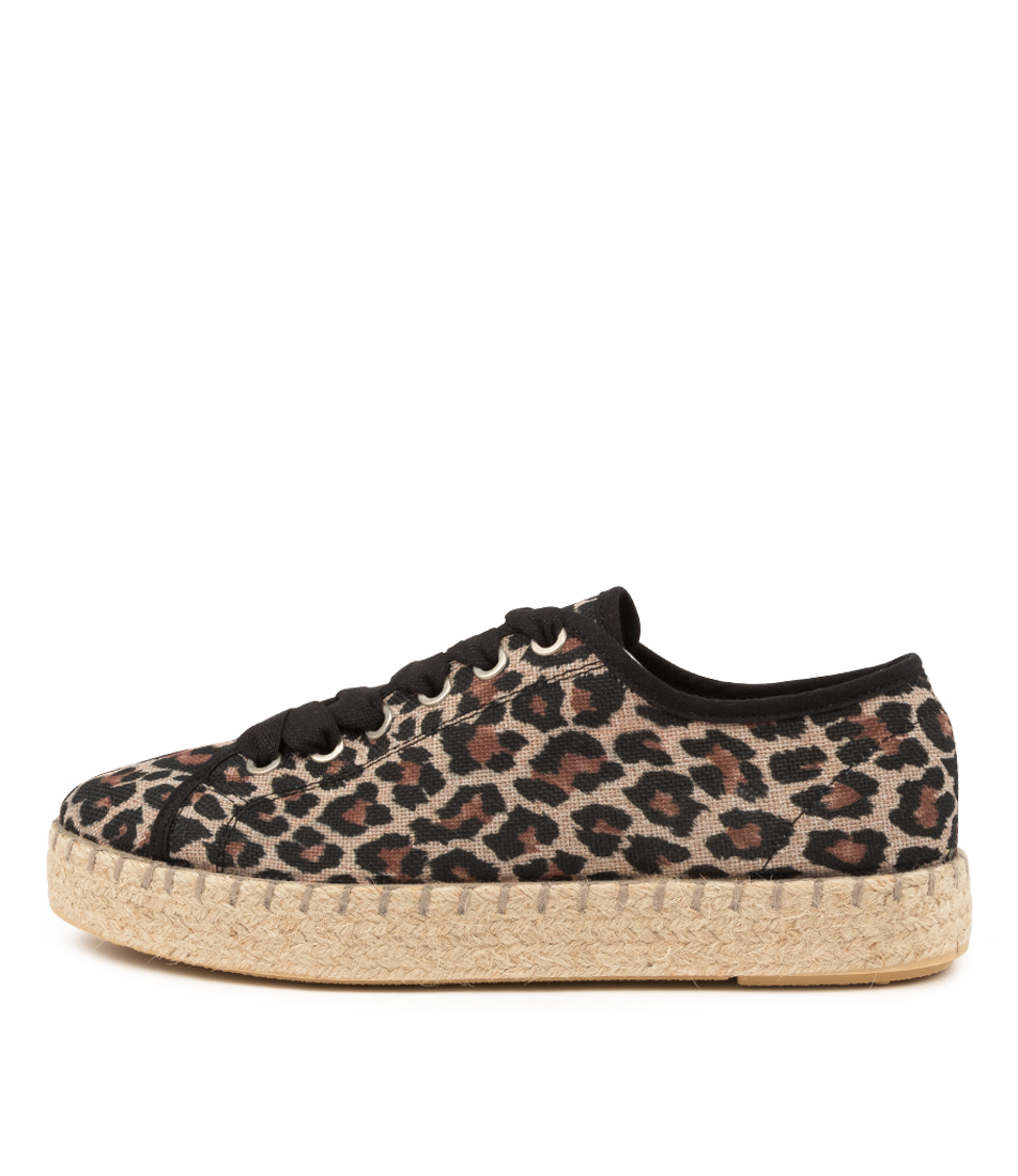 Buy Diana Ferrari Beatira Df Leopard Sneakers online with free shipping