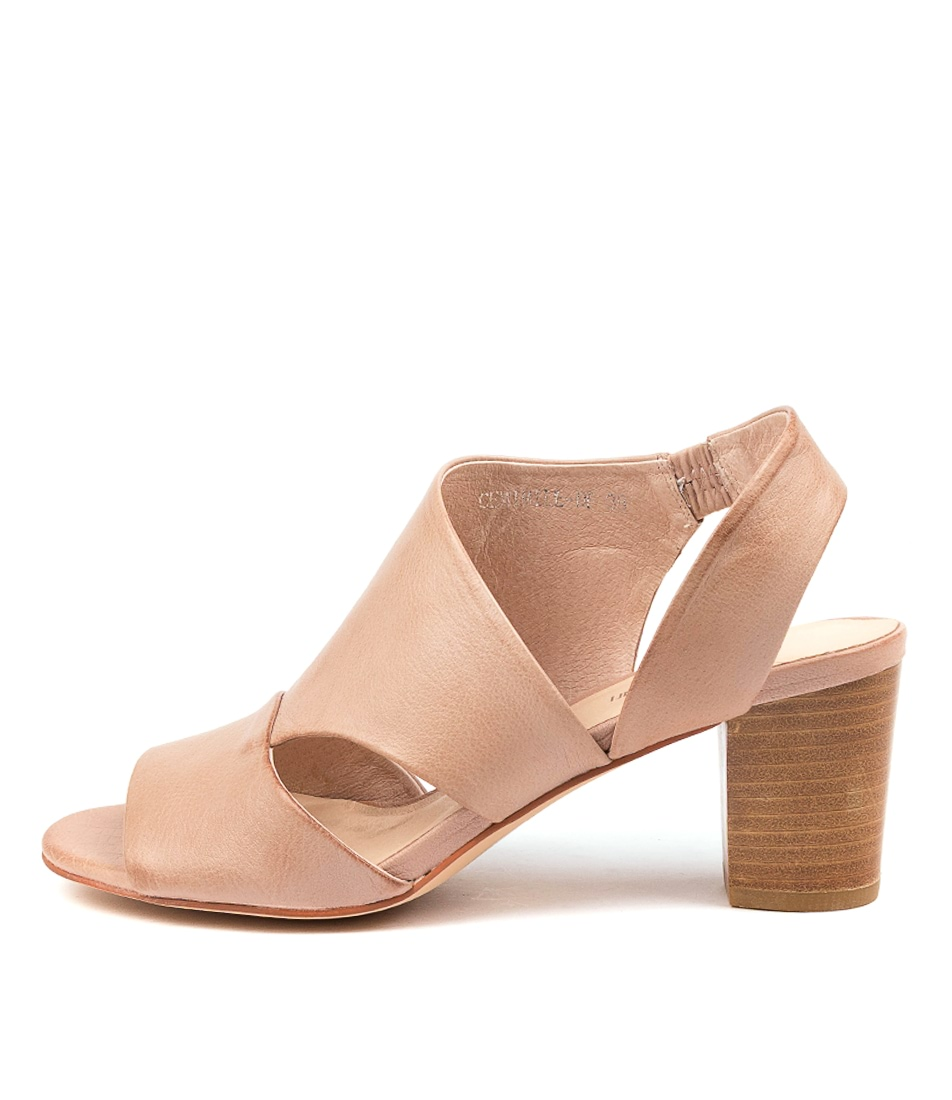 Buy Diana Ferrari Cemimile Df Dk Nude Heeled Sandals online with free shipping