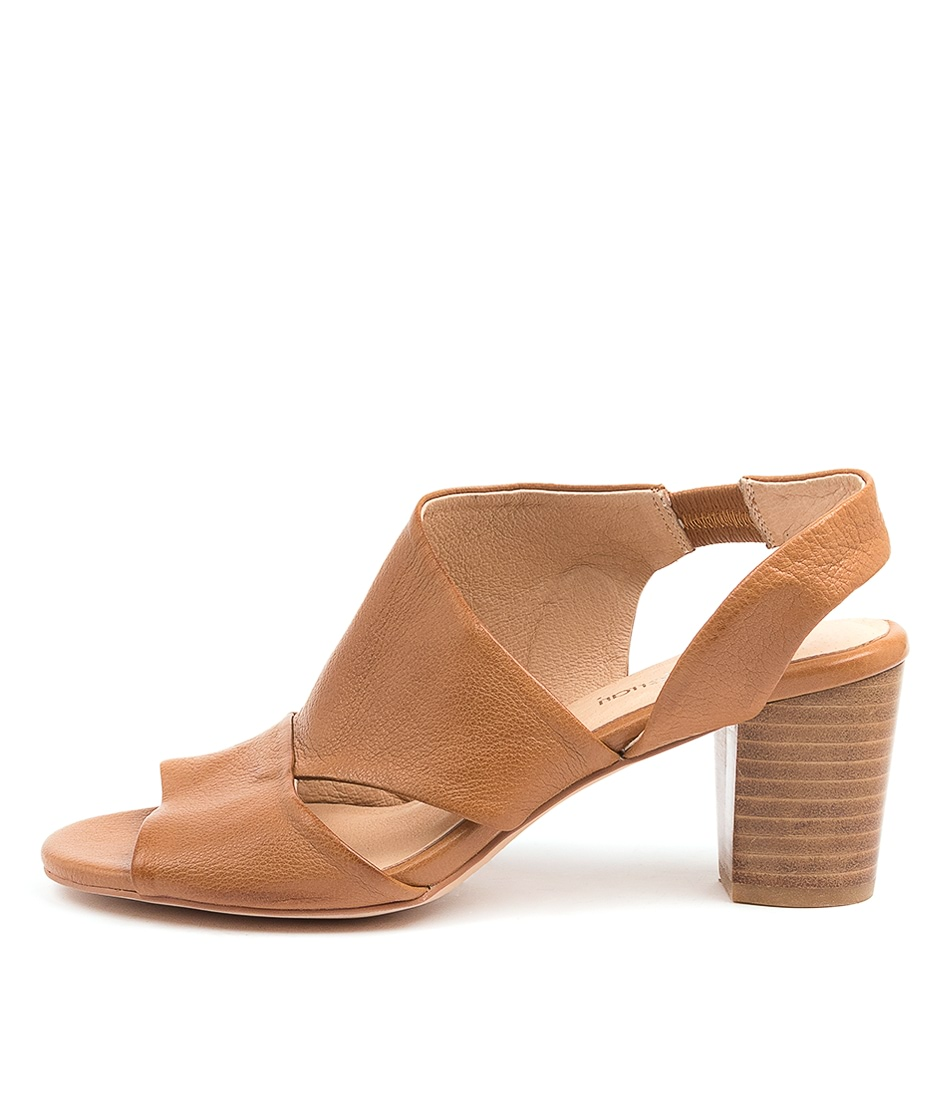 Buy Diana Ferrari Cemimile Df Dk Tan Heeled Sandals online with free shipping