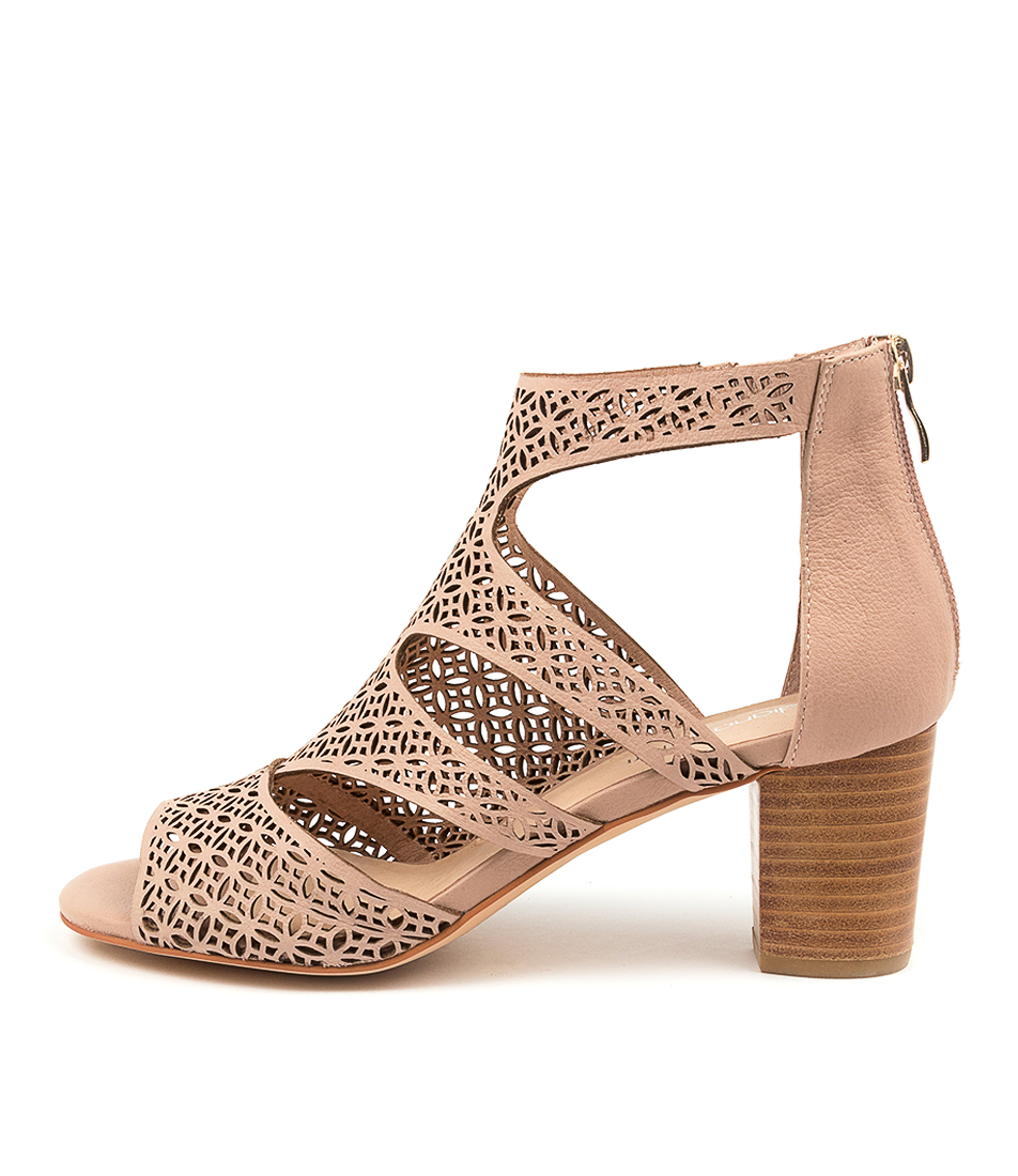 Buy Diana Ferrari Callme Df Dk Nude Heeled Sandals online with free shipping