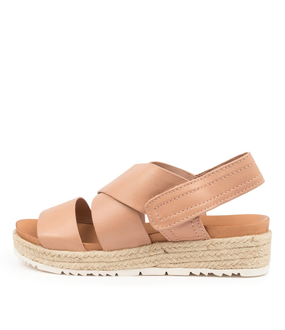 Buy Diana Ferrari Canelly Df Dk Nude Flat Sandals online with free shipping