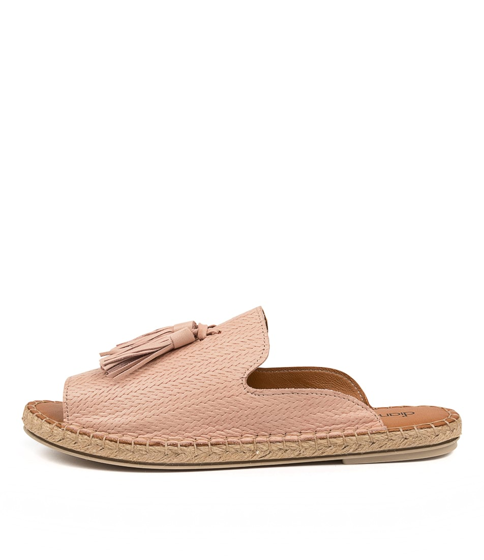 Buy Diana Ferrari Corelo Df Nude Flat Sandals online with free shipping