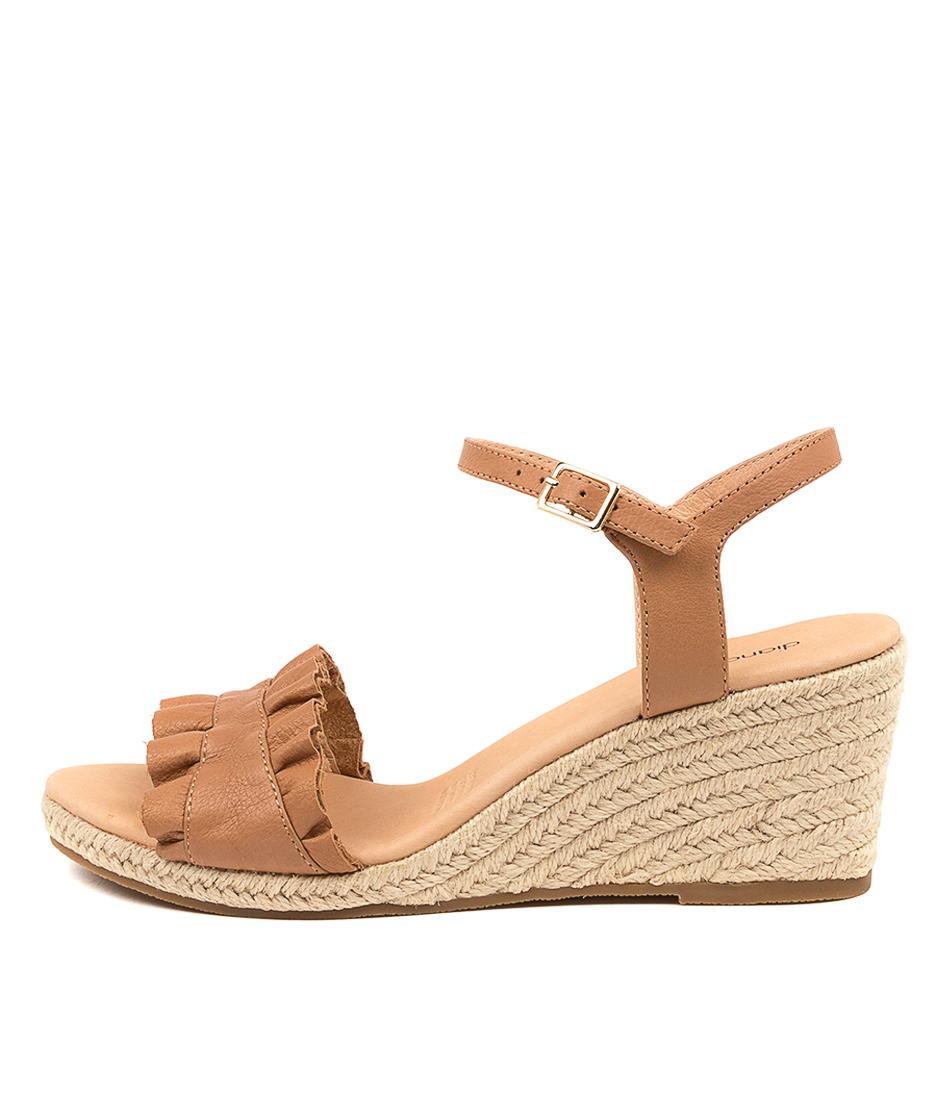 Buy Diana Ferrari Jossepnie Df Dk Tan Heeled Sandals online with free shipping