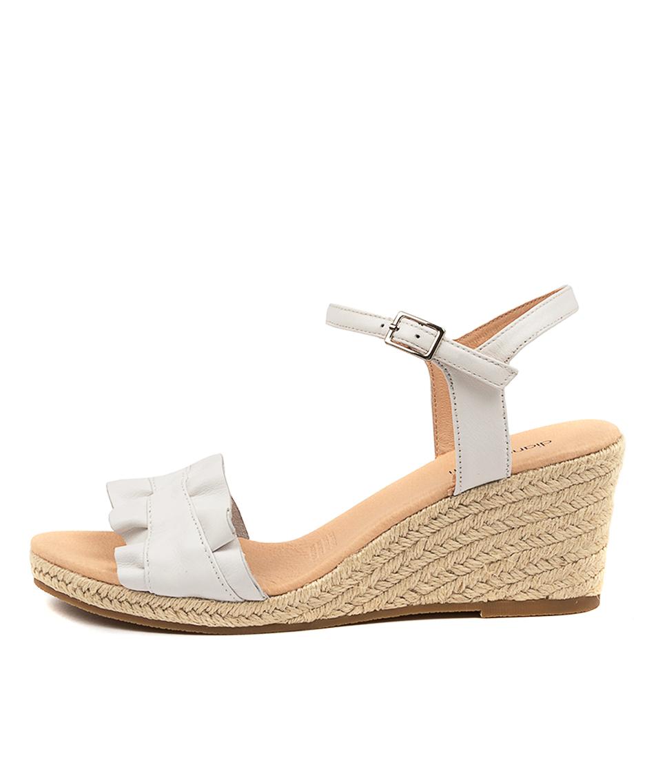 Buy Diana Ferrari Jossepnie Df White Heeled Sandals online with free shipping