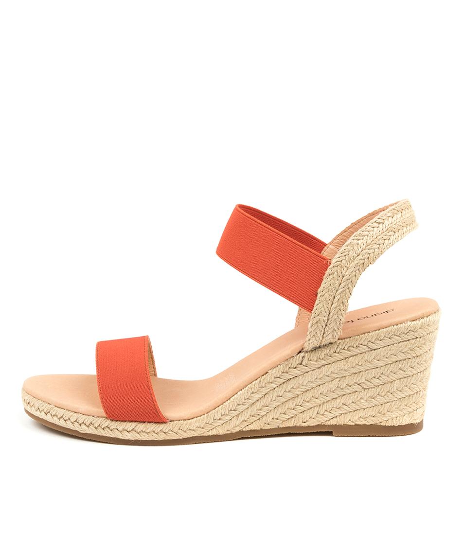 Buy Diana Ferrari Jeppattie Df Burnt Orange Heeled Sandals online with free shipping