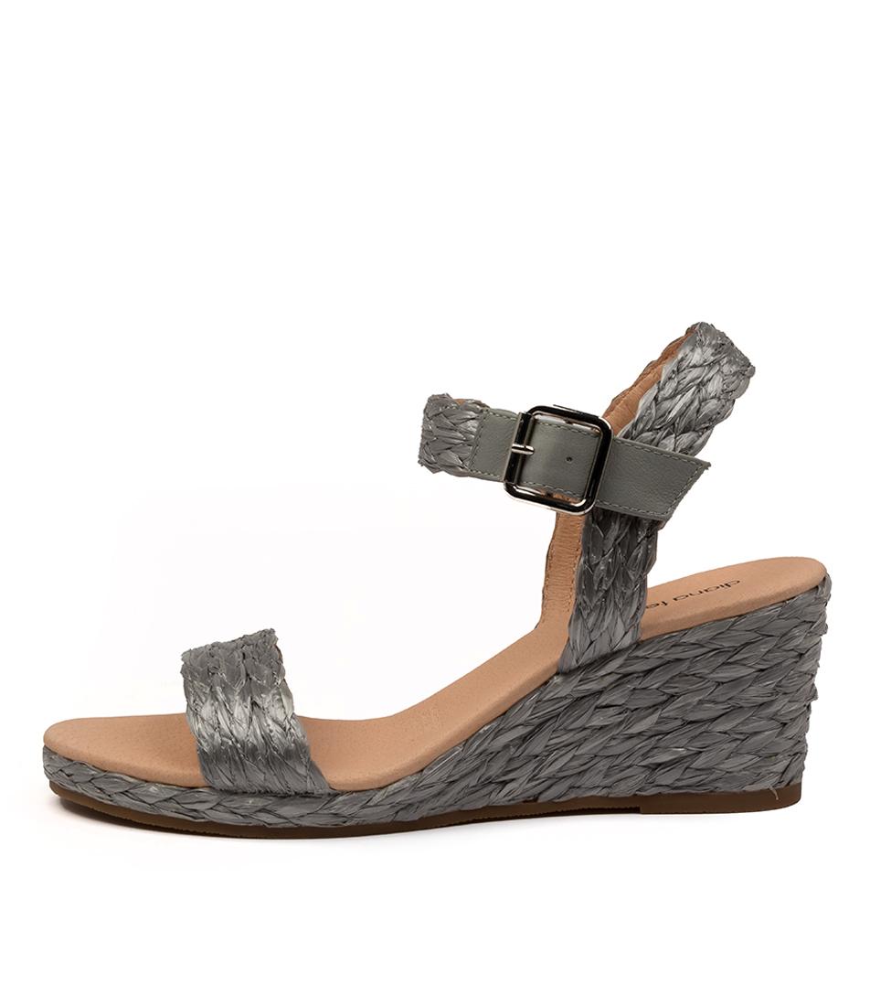 Buy Diana Ferrari Jonsiey Df Grey Heeled Sandals online with free shipping