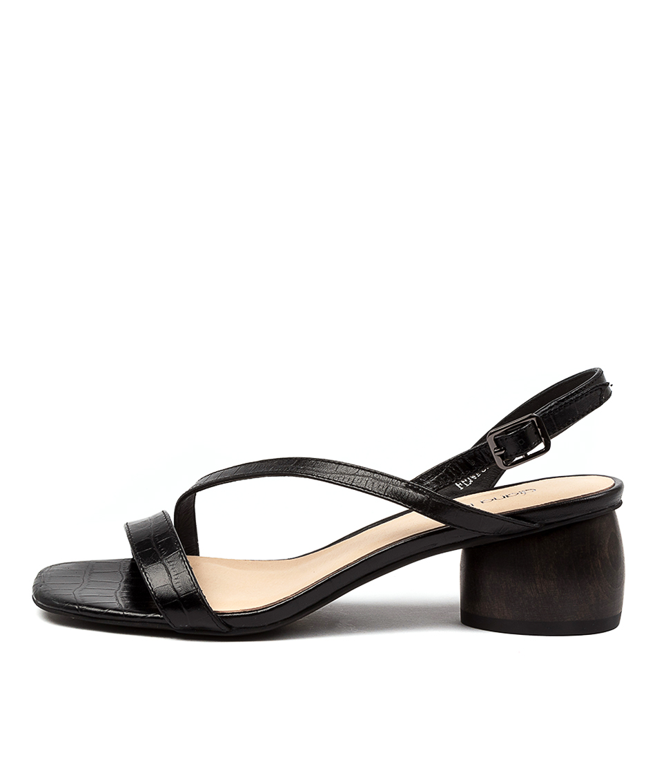 Buy Diana Ferrari Fenton Df Black Heel Heeled Sandals online with free shipping