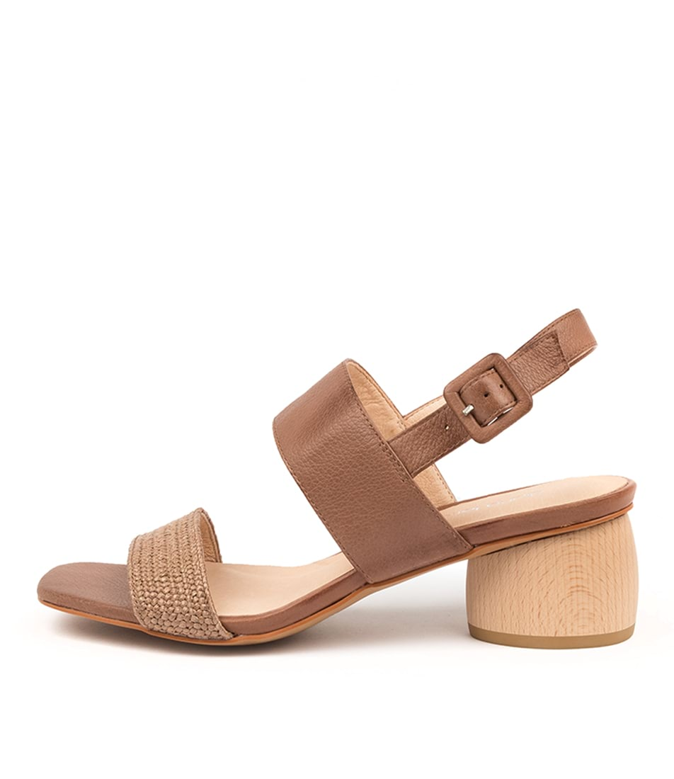 Buy Diana Ferrari Fiero Df Mocca Heeled Sandals online with free shipping