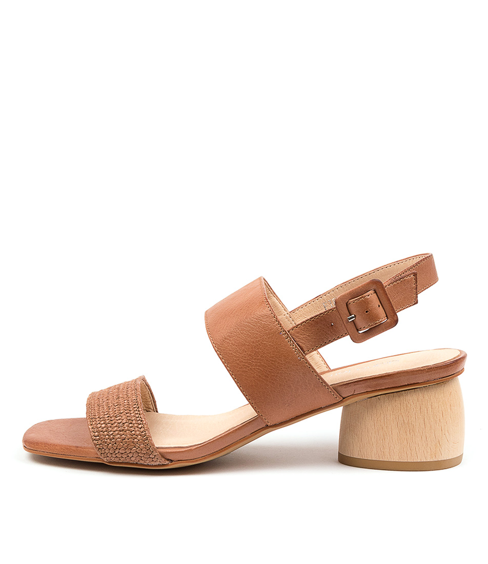Buy Diana Ferrari Fiero Df Earth Heeled Sandals online with free shipping
