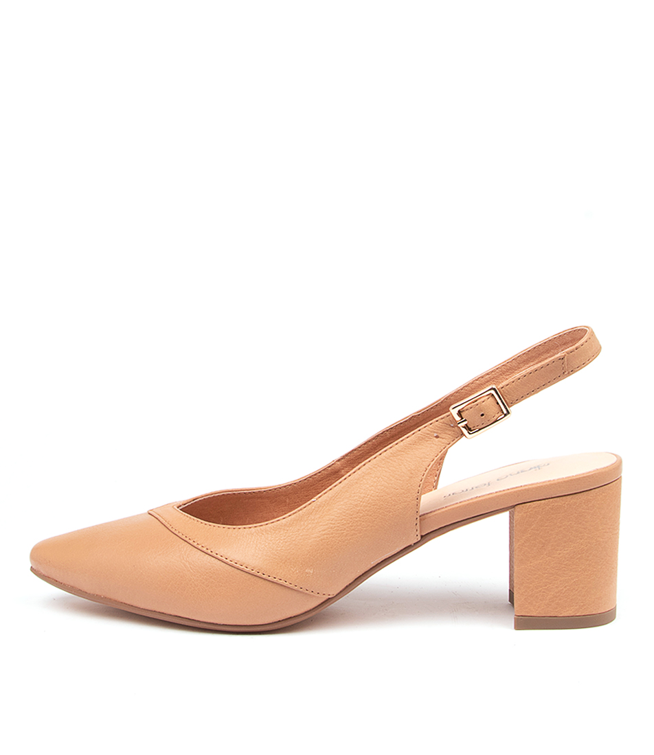 Buy Diana Ferrari Loulous Df Dk Tan High Heels online with free shipping