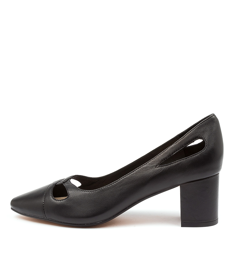 Buy Diana Ferrari Laugha Df Black High Heels online with free shipping
