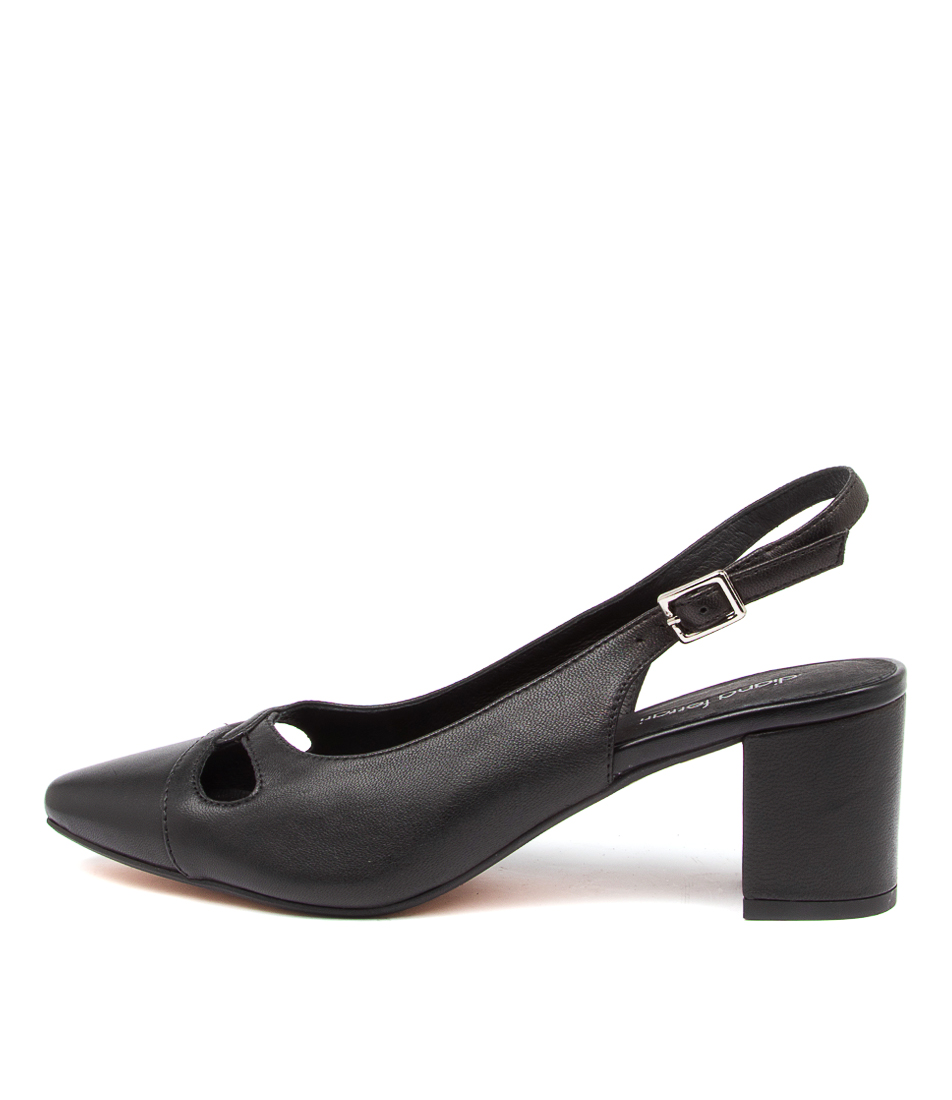 Buy Diana Ferrari Looceel Df Black High Heels online with free shipping