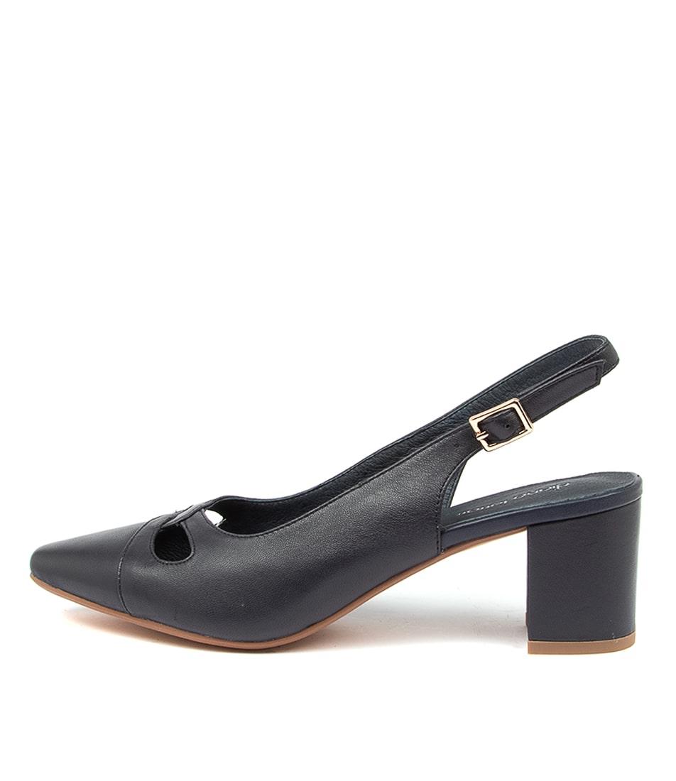 Buy Diana Ferrari Looceel Df Navy High Heels online with free shipping