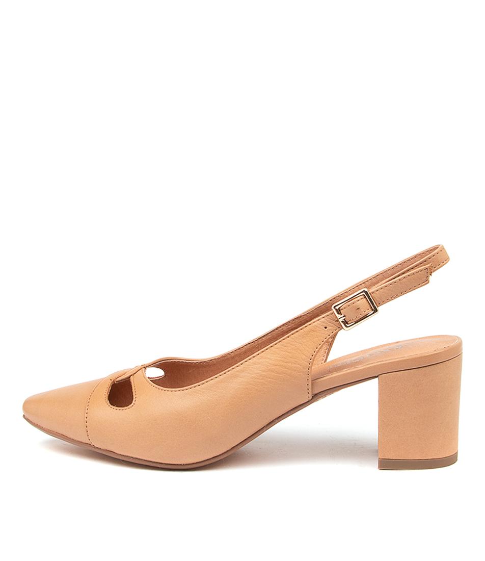Buy Diana Ferrari Looceel Df Dk Tan High Heels online with free shipping