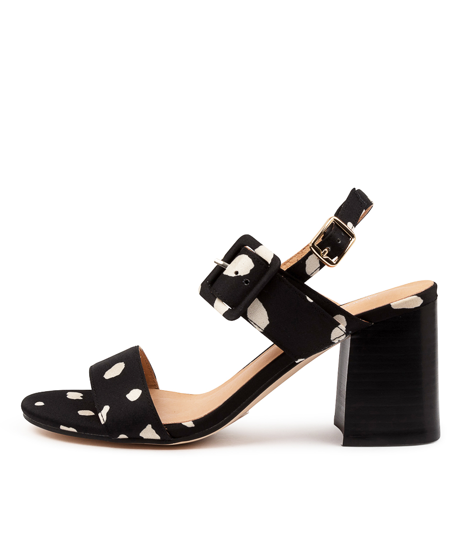 Buy Diana Ferrari Mismae Df Black Spot Heeled Sandals online with free shipping
