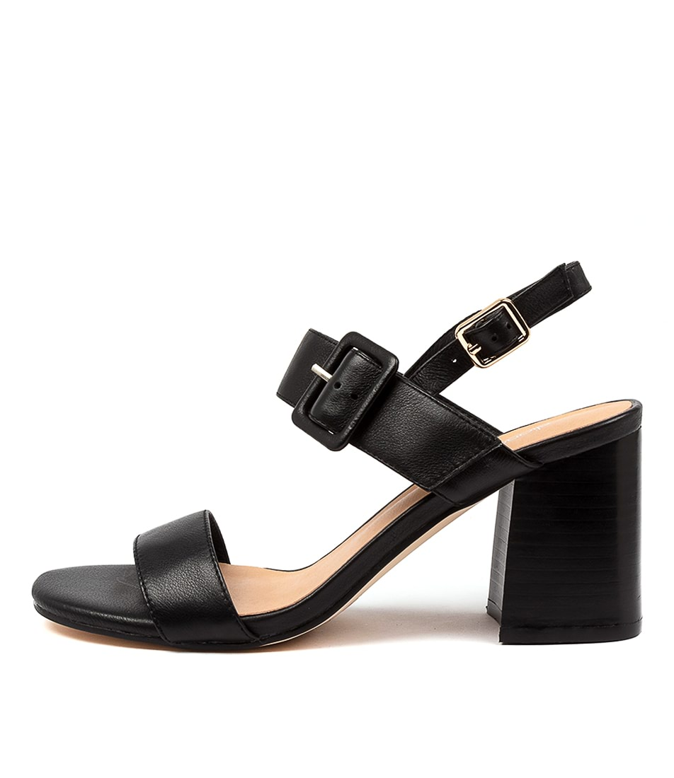 Buy Diana Ferrari Mismel Df Black Heeled Sandals online with free shipping