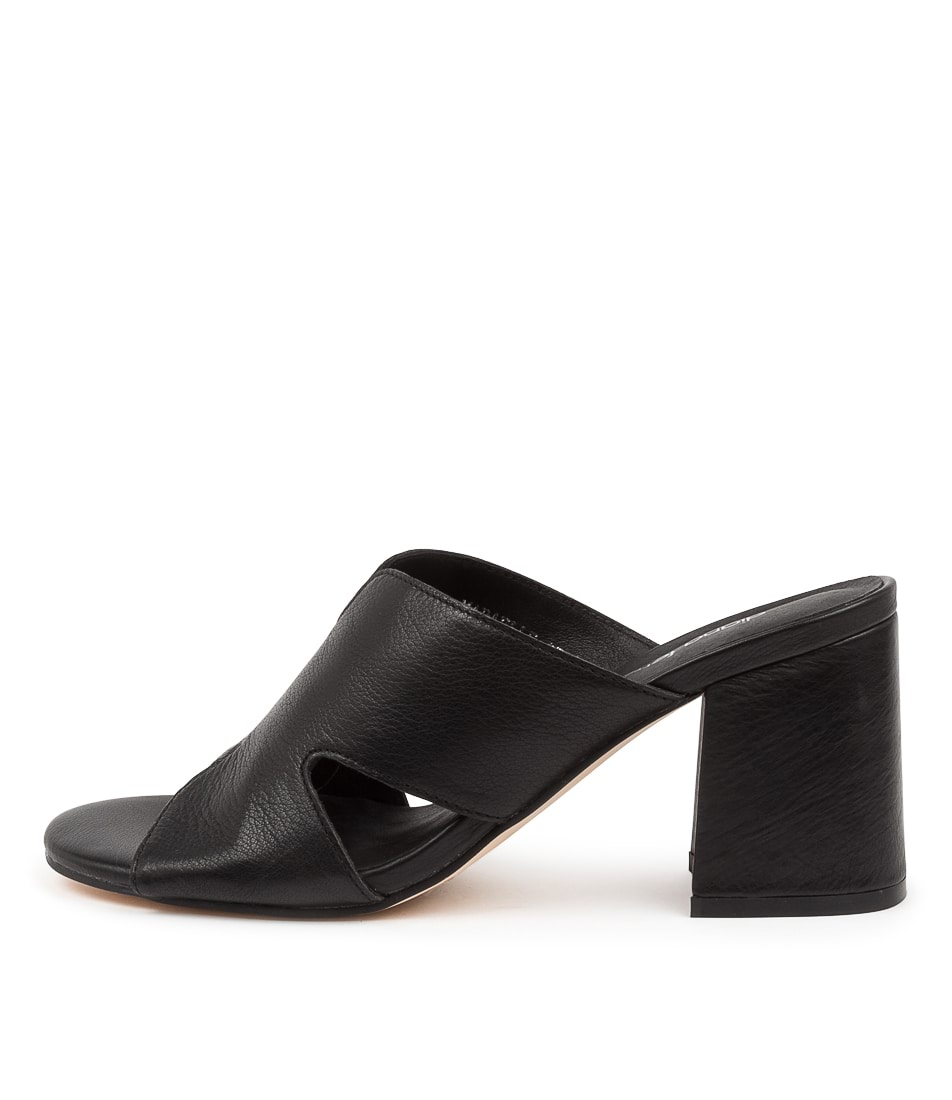 Buy Diana Ferrari Mabaelle Df Black Heeled Sandals online with free shipping