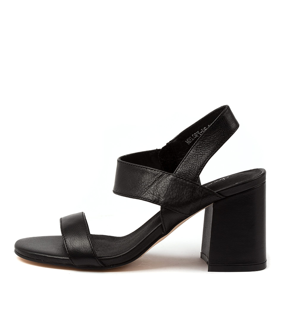 Buy Diana Ferrari Melopy Df Black Heeled Sandals online with free shipping