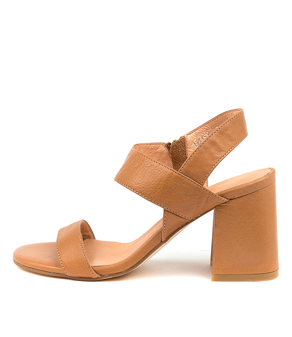 Buy Diana Ferrari Melopy Df Dk Tan Heeled Sandals online with free shipping