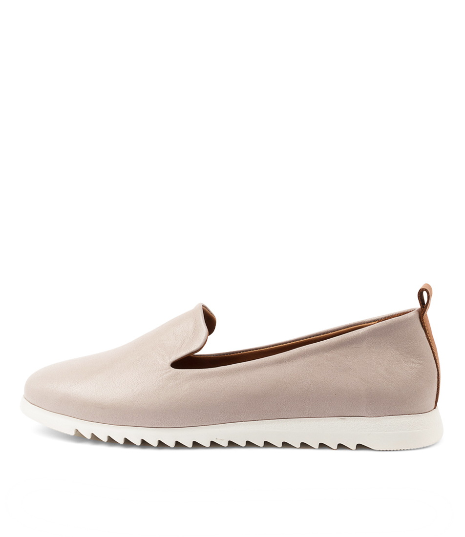 Buy Diana Ferrari Pique Df Taupe Tan Sneakers online with free shipping
