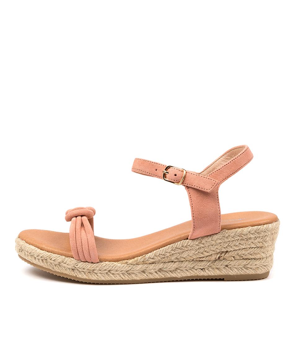 Buy Diana Ferrari Roahan Df Peach Heeled Sandals online with free shipping