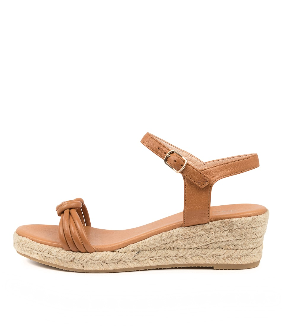 Buy Diana Ferrari Roahan Df Dk Tan Heeled Sandals online with free shipping