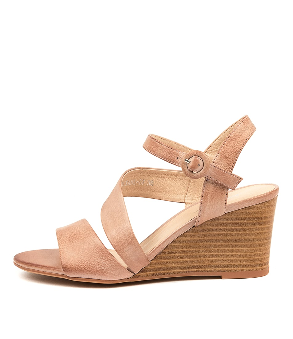 Buy Diana Ferrari Sociane Df Dk Nude Natural Heeled Sandals online with free shipping