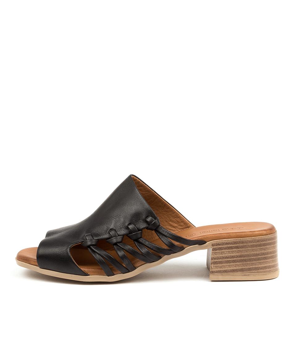 Buy Diana Ferrari Tekan Df Black Heeled Sandals online with free shipping
