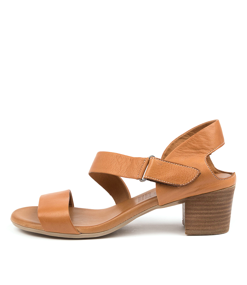 Buy Diana Ferrari Vally Df Tan Heeled Sandals online with free shipping
