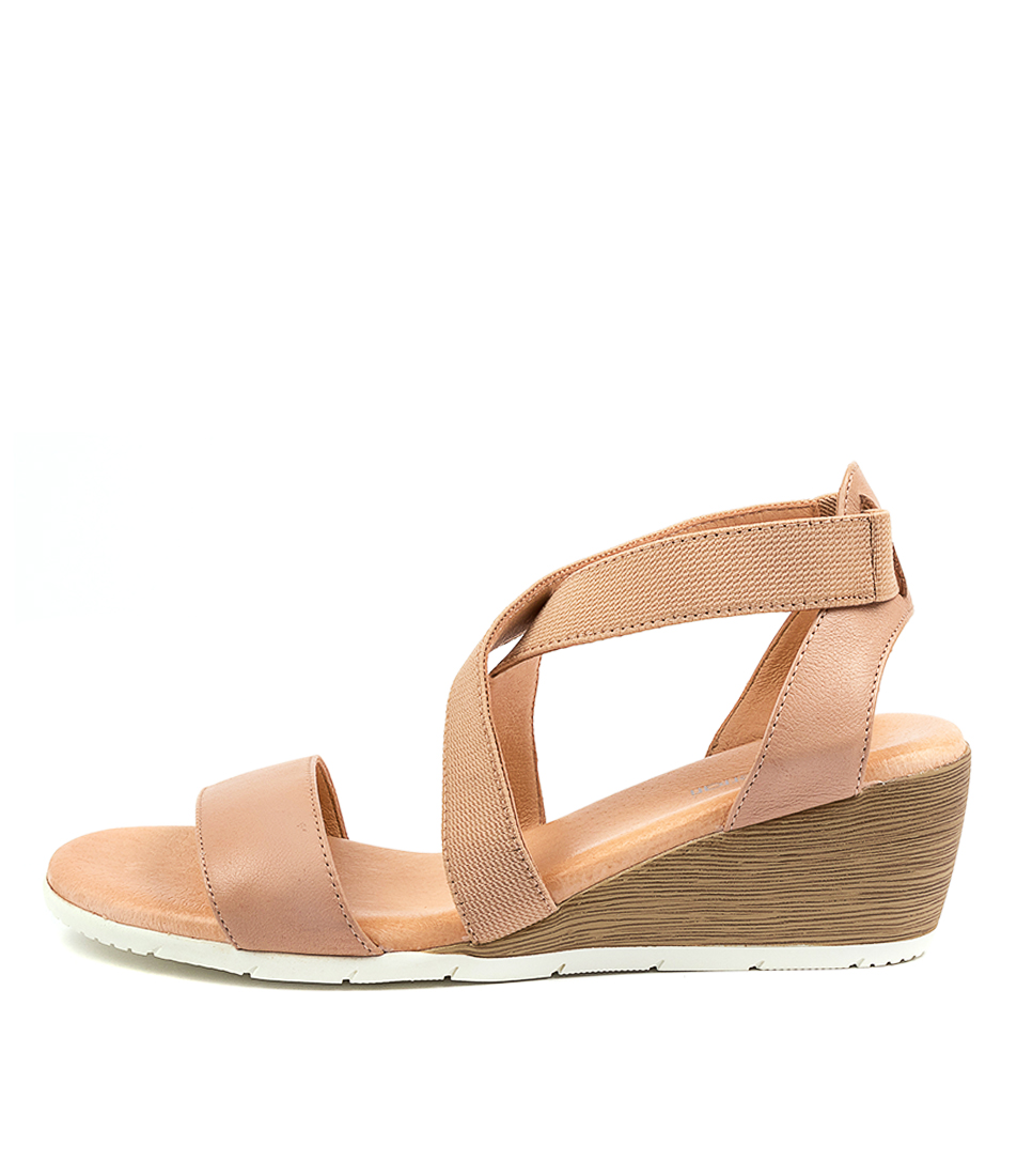 Buy Diana Ferrari Xemember Df Dk Nude White Sole Heeled Sandals online with free shipping