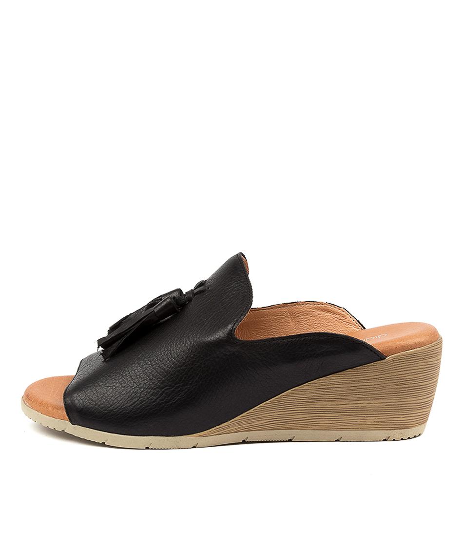 Buy Diana Ferrari Xeenie Df Black Heeled Sandals online with free shipping