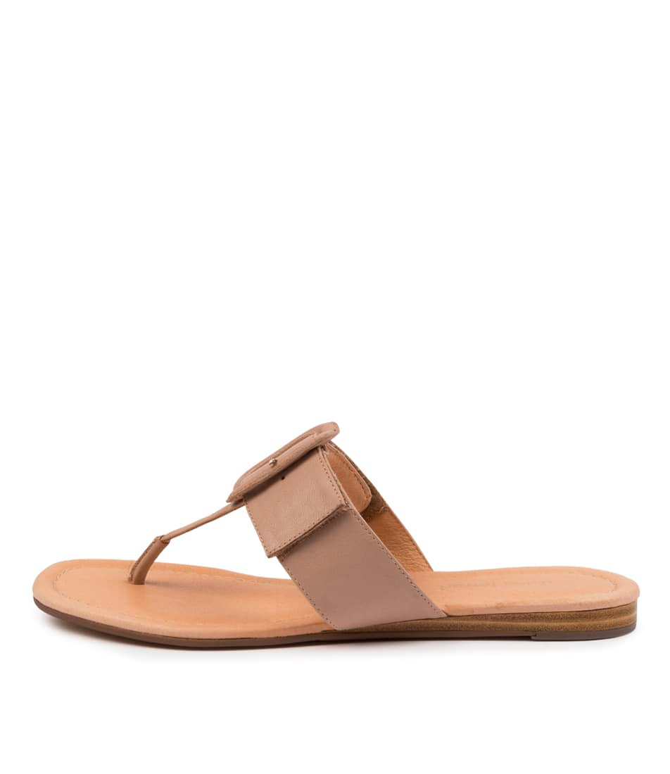 Buy Diana Ferrari Yherdian Df Dk Nude Flat Sandals online with free shipping