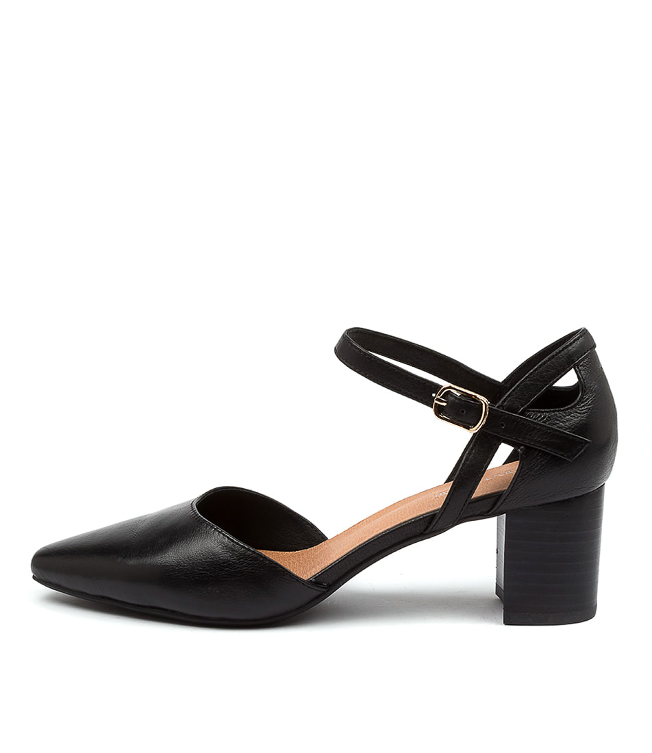 Buy Diana Ferrari Loctavia Df Black High Heels online with free shipping