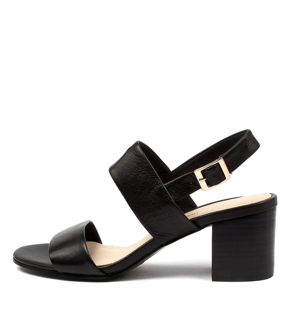 Buy Diana Ferrari Rachelo Df BlackHeeled Sandals online with free shipping